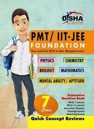 PMT/IIT: JEE Foundation for Class 7  by  Disha Experts
