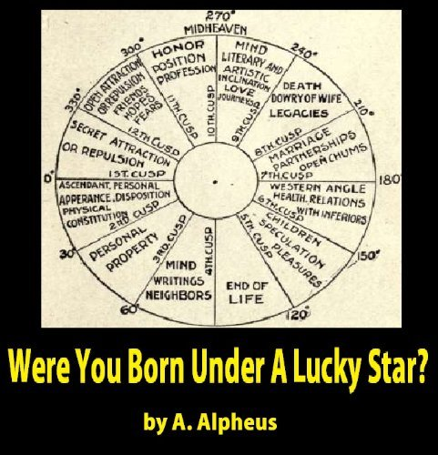 Were You Born Under A Lucky Star? : a complete exposition of the science of astrology adapted from the four books of Ptolemy  by  A. Alpheus