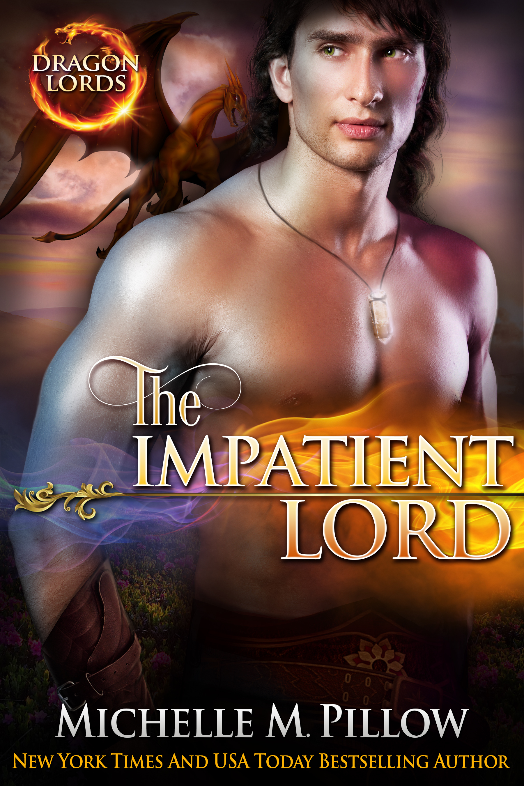 The Impatient Lord (Dragon Lords, #8) Michelle M. Pillow