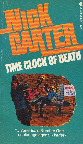 Time Clock of Death  by  Nick Carter