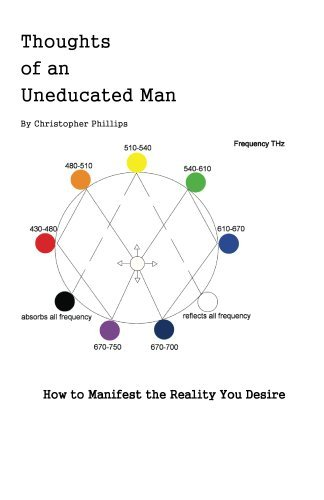 Thoughts of an Uneducated Man How to Manifest the Reality You Desire Christopher Phillips