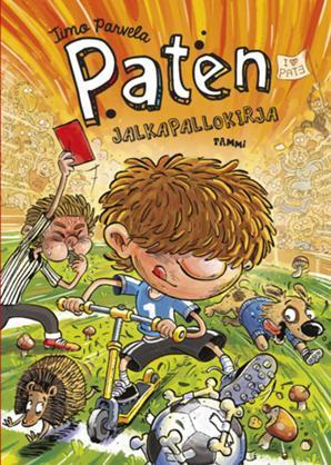 Paten jalkapallokirja (Pate #2)  by  Timo Parvela