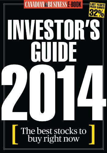 Canadian Business Investors Guide 2014  by  Canadian Business