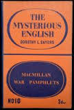 The Mysterious English  by  Dorothy L. Sayers
