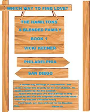 WHICH WAY TO FIND LOVE? (THE HAMILTONS - A BLENDED FAMILY Book 1)  by  Vicki Keener