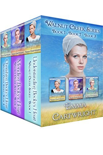 Amish Walnut Creek Series Boxset: Beckys Heart: Short Amish Romance Stories  by  Emma Cartwright