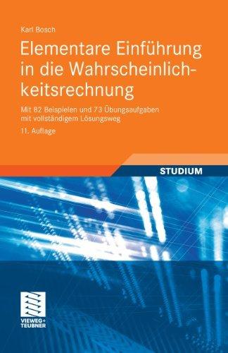 Elementare Einführung in die Wahrscheinlichkeitsrechnung Karl Bosch