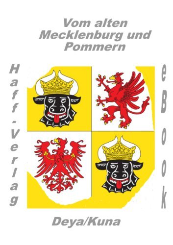 Vom alten Mecklenburg und Pommern Edwin Kuna