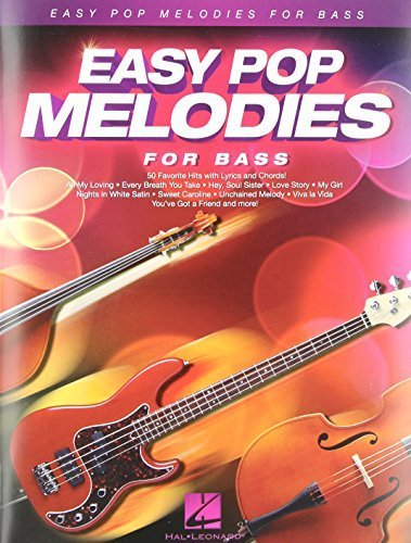 Easy Pop Melodies for Bass  by  Hal Leonard Publishing Company