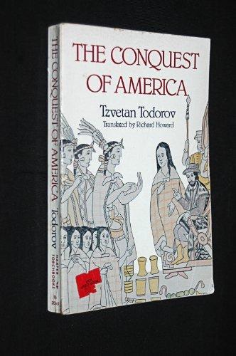 Conquest of America  by  Tzvetan Todorov