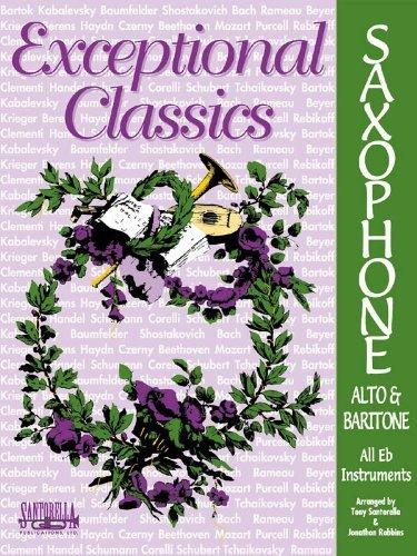 Exceptional Classics for Alto Sax * with CD Jonathon Robbins