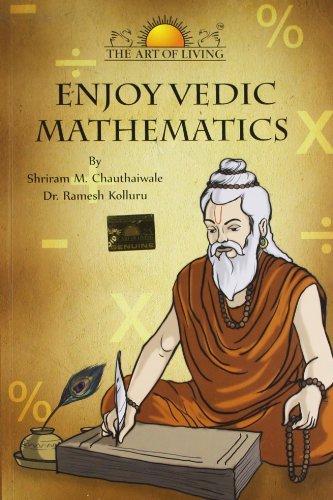 Enjoy Vedic Mathematics Shiram M. Chauthaiwale