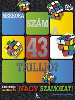Mekkora szám a 43 trillió? Lynn Huggins-Cooper