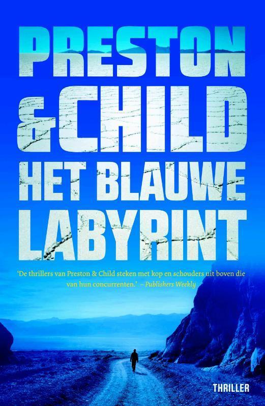 Het blauwe labyrint Douglas Preston