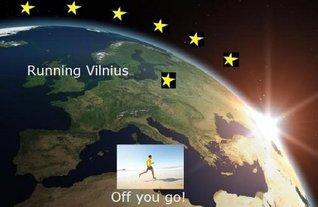 Running Vilnius (Running the EU Book 26)  by  Ulrik Solberg