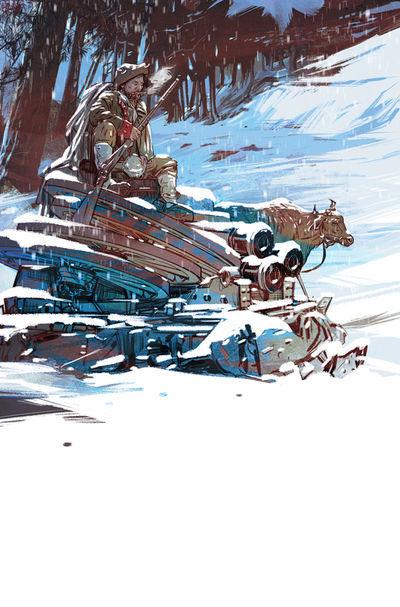 Rebels #5  by  Brian Wood