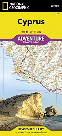 Cyprus  by  National Geographic Maps - Adventure