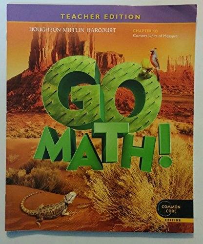 Go Math! Grade 5 Teacher Edition Chapter 10: Convert Units of Measure  by  HMH School