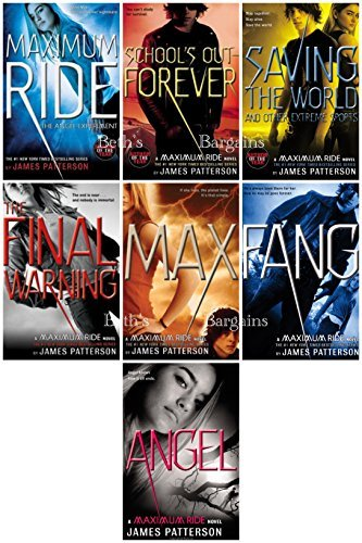 Maximum Ride Series Collection - Forever, Angel Experiment, Schools Out, Saving The World, Final Warning, Max, Fang, Angel James Patterson