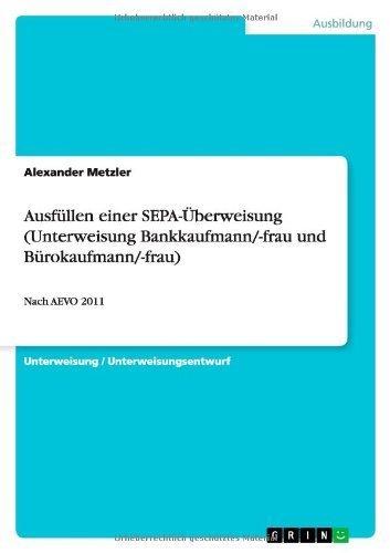 Ausfüllen einer SEPA-Überweisung  by  Alexander Metzler