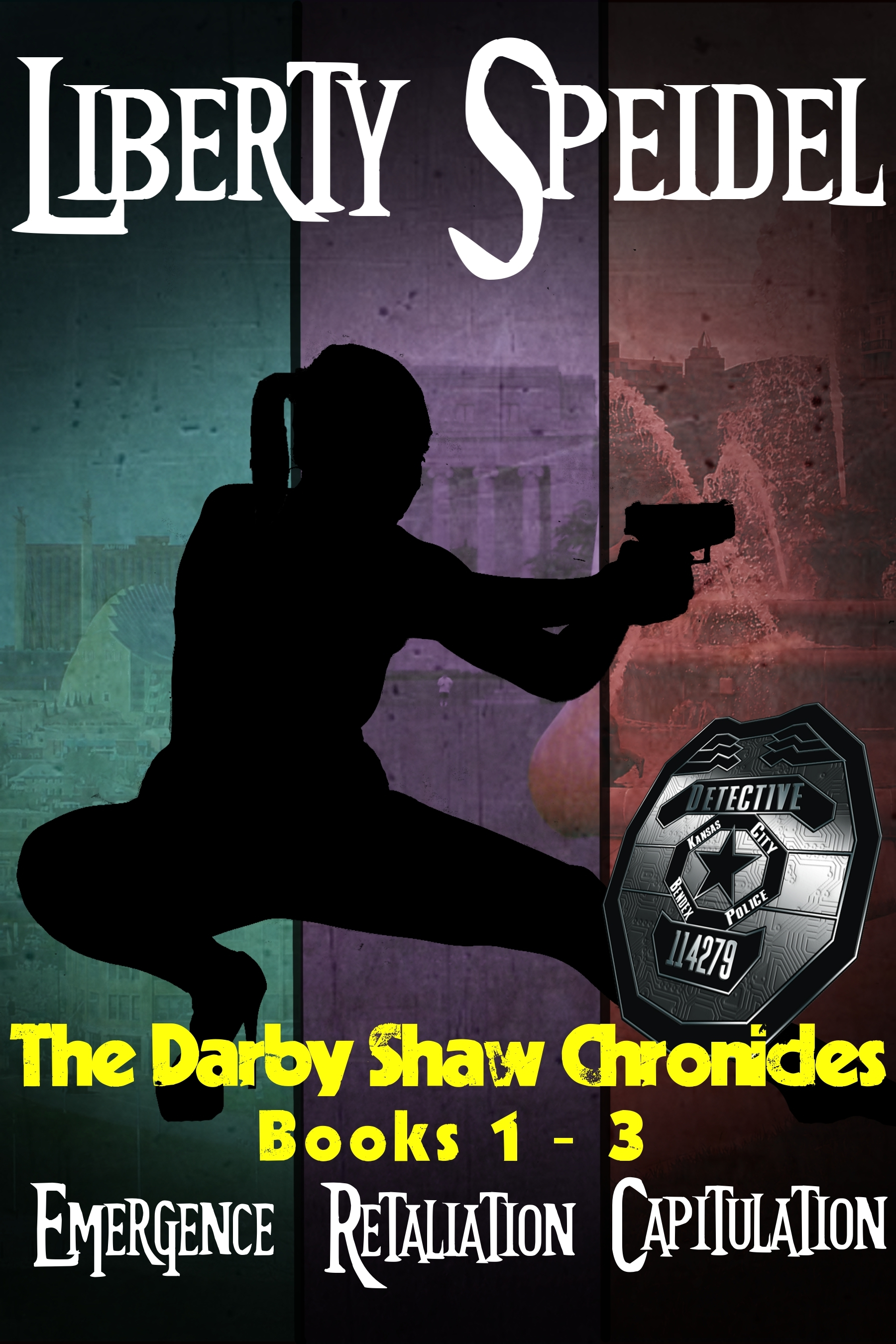 The Darby Shaw Chronicles: Books 1 - 3  (The Darby Shaw Chronicles, #1-3)  by  Liberty Speidel