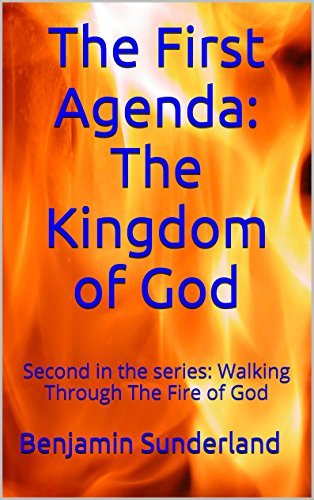 The First Agenda: The Kingdom of God: Second in the series: Walking Through The Fire of God Benjamin Sunderland