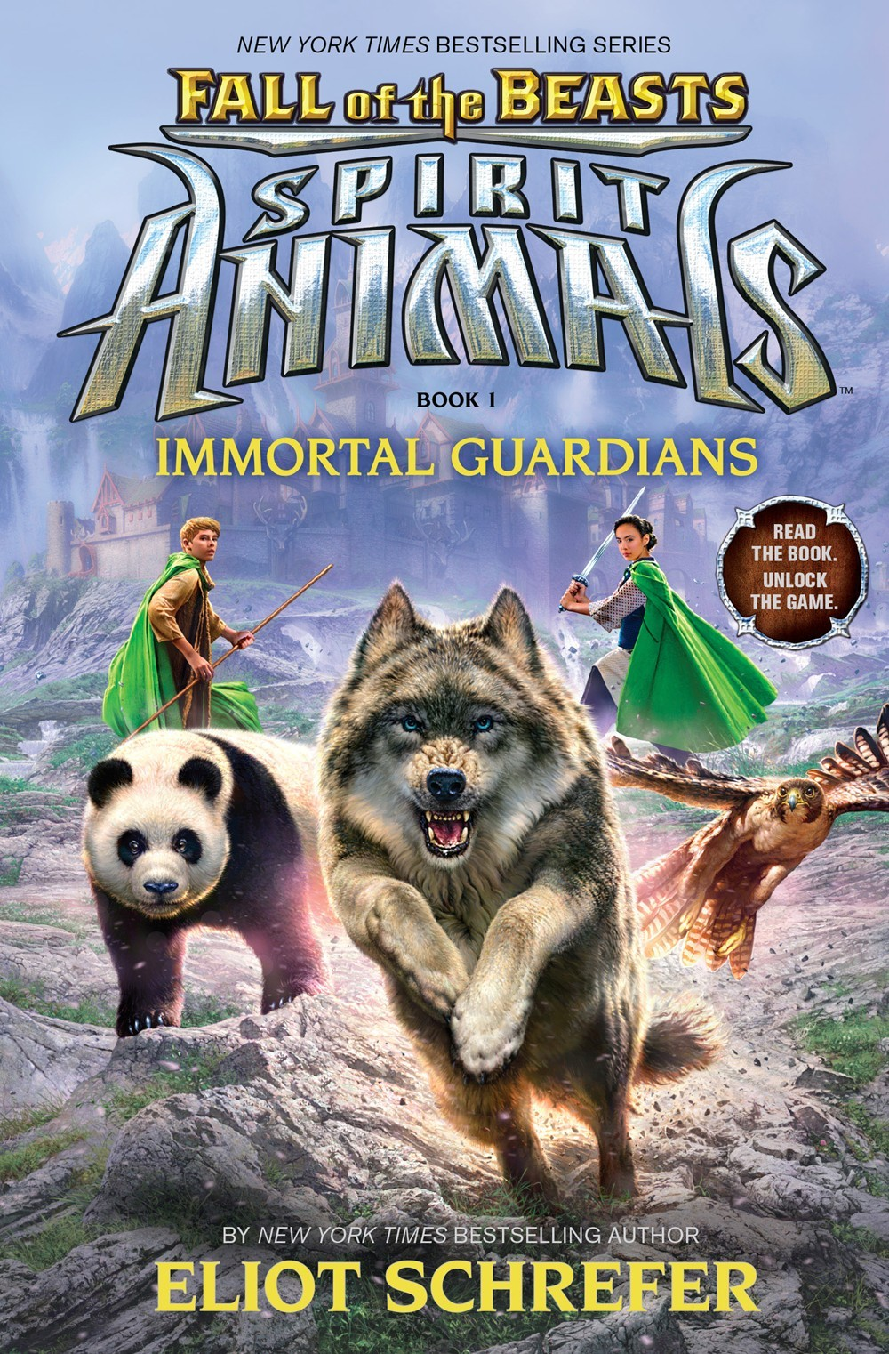 Immortal Guardians (Spirit Animals: Fall of the Beasts, #1) Eliot Schrefer