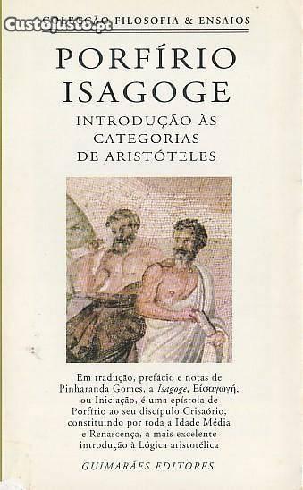Isagoge: Introdução às Categorias de Aristóteles  by  Porfirio