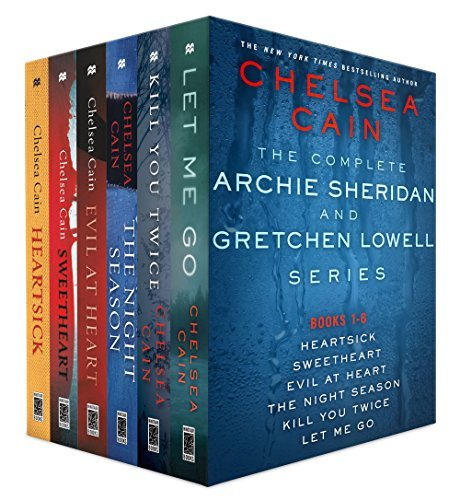 The Complete Archie Sheridan and Gretchen Lowell Series, Books 1 - 6  by  Chelsea Cain