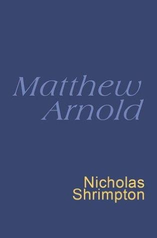 Matthew Arnold: Everymans Poetry Matthew Arnold