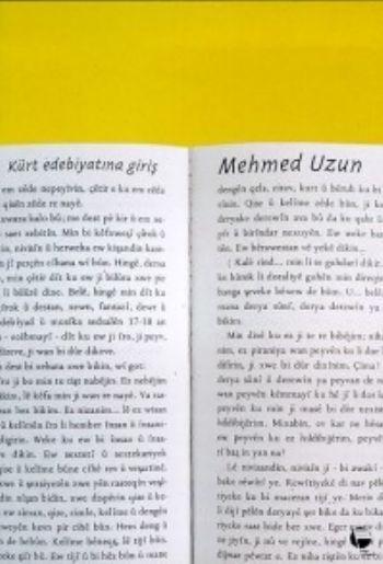 Kürt Edebiyatına Giriş Mehmed Uzun