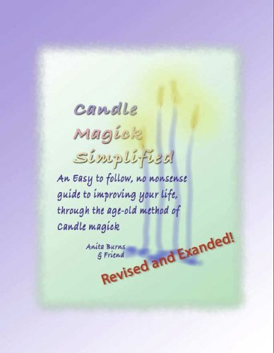 Candle Magick Simplified Anita Burns