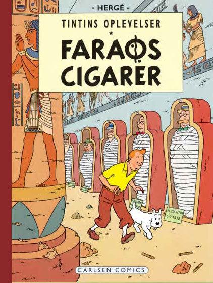 Faraos cigarer (Tintin #4)  by  Hergé