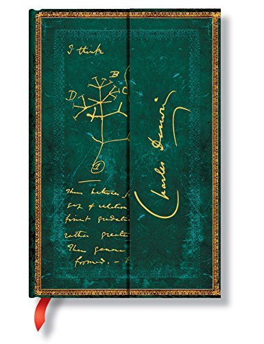 Darwin Tree of Life Mini Wrap Journal Paperblanks