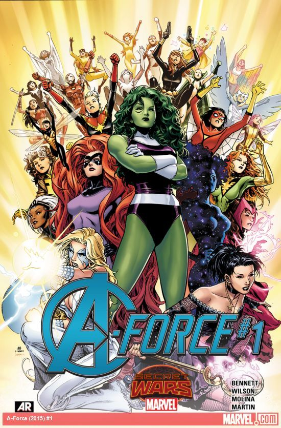A-Force, Vol. 1 G. Willow Wilson