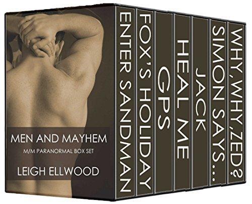 Men And Mayhem M/M Paranormal Box Set Leigh Ellwood