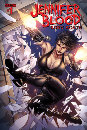Jennifer Blood: Born Again #1  by  Steven Grant