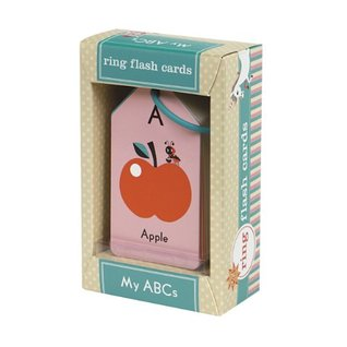My ABCs Ring Flash Cards  by  Mudpuppy