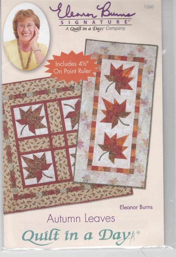 Autumn Leaves - Pattern  by  Eleanor Burns