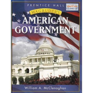 Magruders 2008 American Government William A. McClenaghan