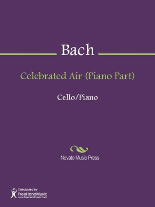Celebrated Air (Piano Part) August Willhelmj