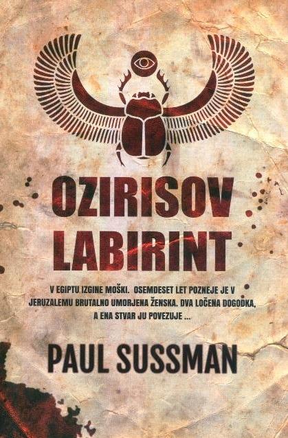 Ozirisov labirint  by  Paul Sussman