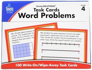 Task Cards: Word Problems, Grade 4 Nancy R. Bosse