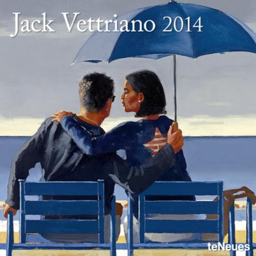 2014 Jack Vettriano (Calendar 2014)  by  teNeues