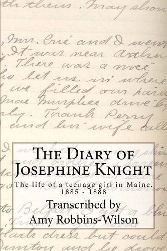The Diary of Josephine Knight  by  Amy Robbins-Wilson
