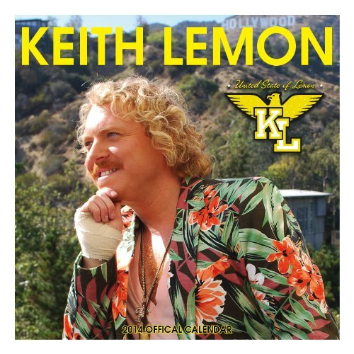 Official Keith Lemon 2014 Calendar (Calendars 2014)  by  NOT A BOOK