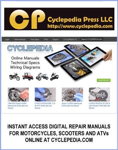 1992-2007 Yamaha XT225 Serow Service Manual  by  Cyclepedia Press LLC