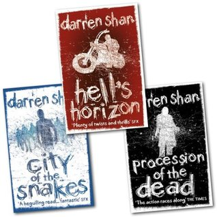 Darren Shan the City Trilogy 3 Books Collection Pack Set  by  Darren Shan