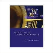 Productions & Operations Analysis  by  Steven Nahmias
