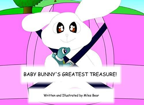 BABY BUNNYS GREATEST TREASURE! Miles Bear